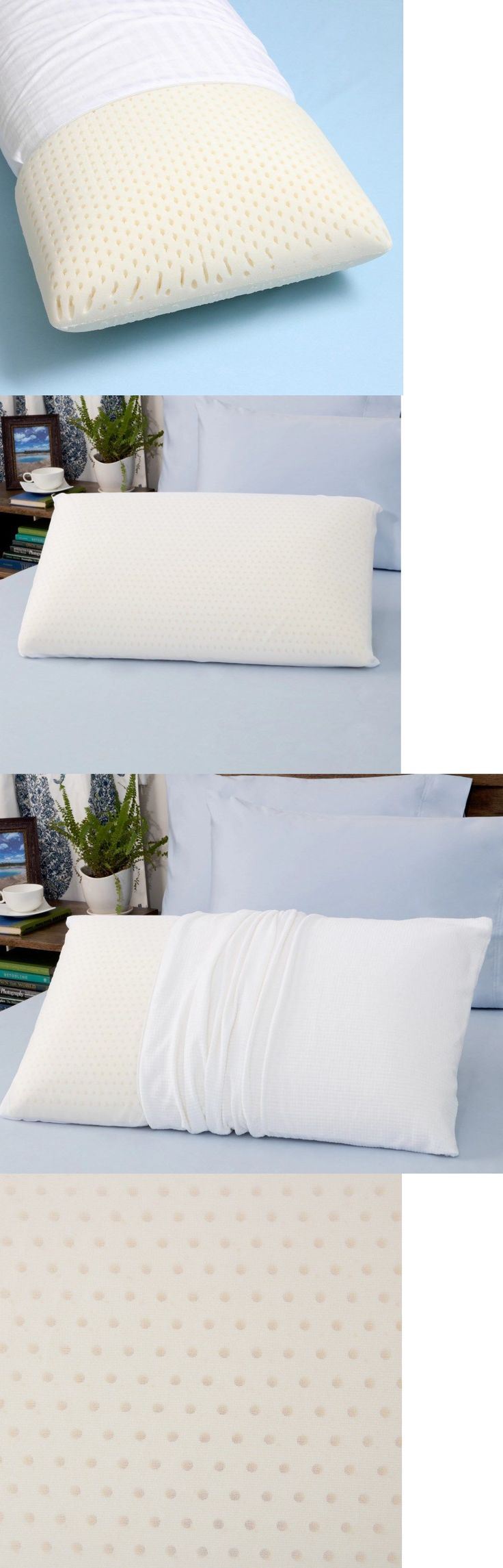 bed pillows latex foam pillow king size firm density bed side back sleeper