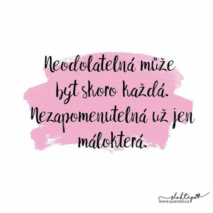 Krásné pondělí všem nezapomenutelným ženám. ☕ #sloktepo #motivacni #hrnky #miluju #kafe #citaty #domov #darek #stesti #laska #czechgirl #czechboy #czech #praha