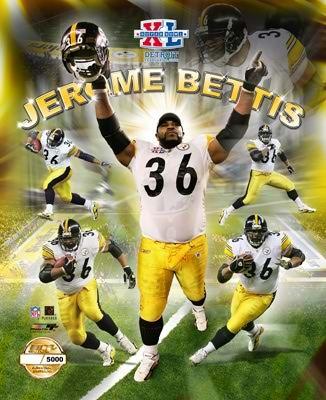 Jerome Bettis # 36  MY BOO!! Miss him :(