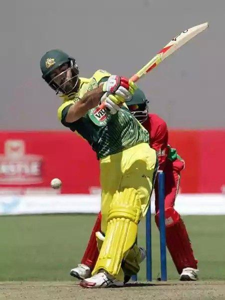 Australian hard hitter in Cricket - Glenn Maxwell -
