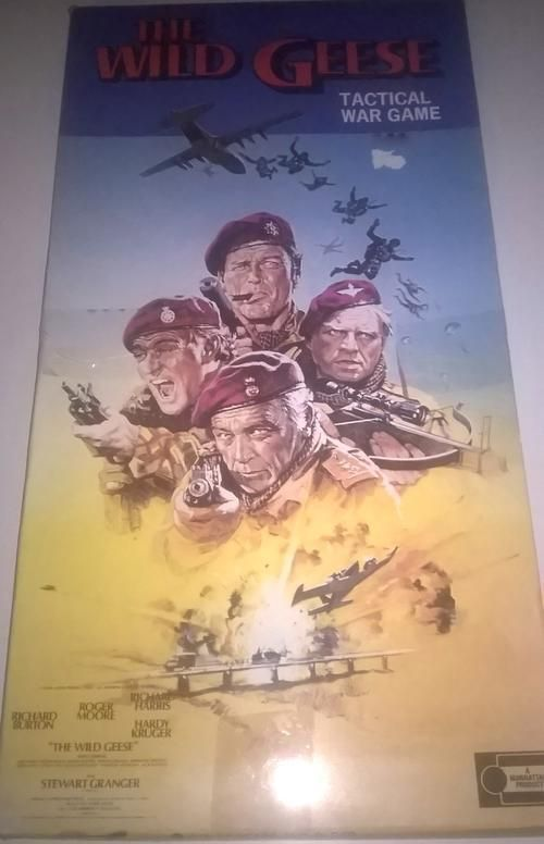 Buy Very Rare, THE WILD GEESE - TACTICAL WAR GAME 1978. Completefor…