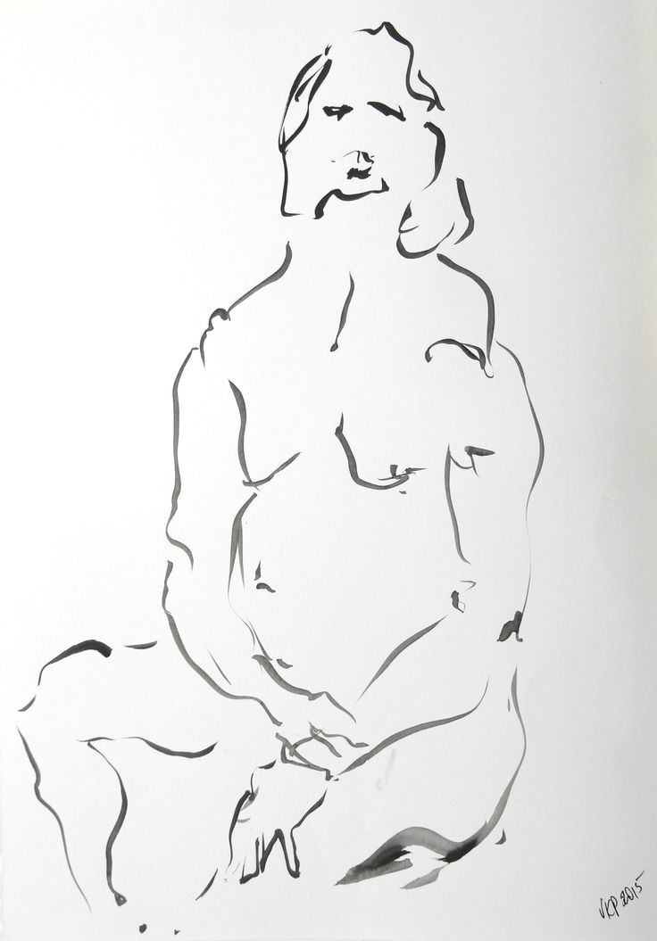 Male Seated, by Veronica Petelin. Ink and brush on paper, 29.7 x 42.0cm (framed)  From N U D E W E R K S at Atelier451 (April 24 - May 15, 2016) www.atelier451.com.au/n_u_d_e_w_e_r_k_s #painting #drawing #lifedrawing #male #figure #nude #nudewerks #veronicapetelin #atelier451 #ormond