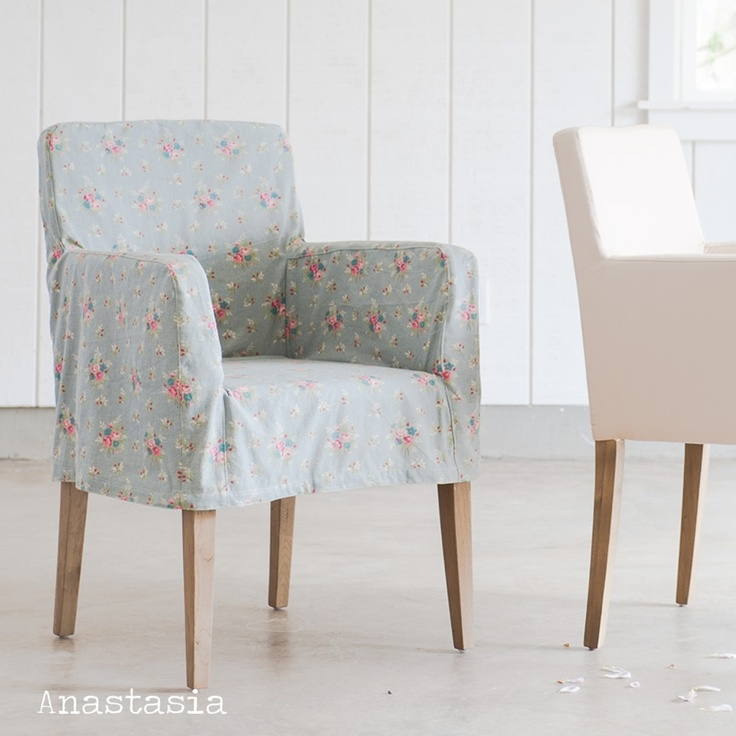 98 best images about shabby chic slipcovers on pinterest chair slipcovers shabby chic chairs - Shabby chic dining room chair covers ...