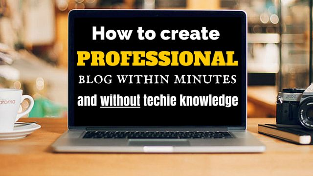 When it comes to getting results in online business, #blogging can be very helpful and if you want to know how you can set up professional #blog within minutes and without techie knowledge, then go here: http://brandonline.michaelkidzinski.ws/how-to-create-professional-blog-within-minutes-and-without-techie-knowledge/