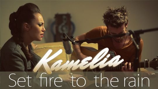 Kamelia - Set fire to the rain (Adele cover)   http://www.emonden.co/kamelia-set-fire-rain-adele-cover