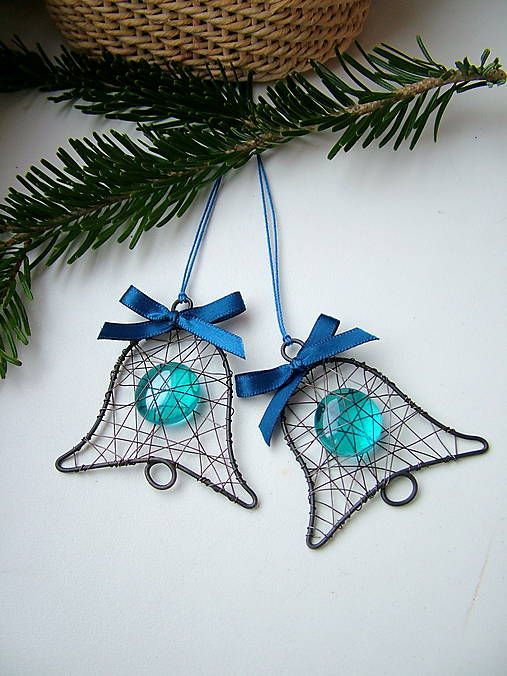 292 best wire and beads - christmas images on Pinterest | Christmas ...