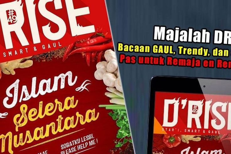 Majalah remaja Islam Drise's page on about.me – https://about.me/drise