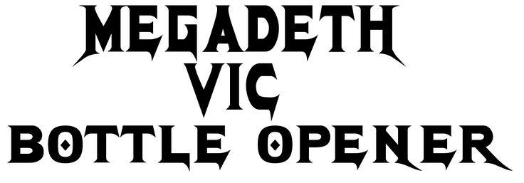 Megadeth Font and Megadeth Logo