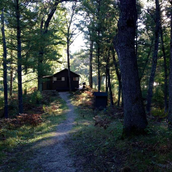 Pere Marquette Riverfront Cabin - Cabins for Rent in Baldwin, Michigan, United States