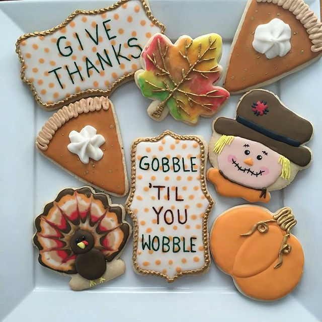 Did you know that Poppy Paint works great on royal icing? Just ask @littlemisscakepops. She's always doing amazing things with Poppy Paint.  @Regrann from @littlemisscakepops -  Happy Thanksgiving! 🍂🍁🦃 I have so much to be thankful for this year, especially everyone's constant support for me doing what I love xx #littlemisscakepops #sugarcookies #happythanksgiving #pumpkinpiecookies #turkeycookies #thanksgivingcookies #fallcookies #thanksgiving #fall #givethanks #turkey…