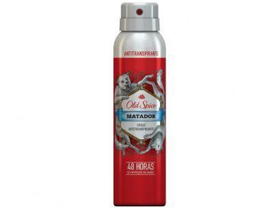 Old Spice Matador 150ml - Desodorante Antitranspirante com as melhores condições você encontra no Magazine Raimundogarcia. Confira!