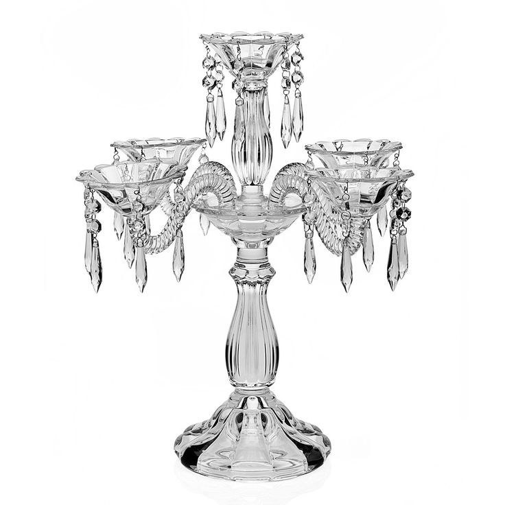 wellington crystal candelabra
