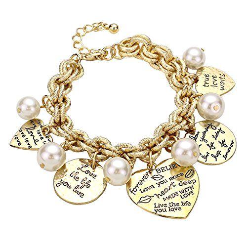 Inspirational Charm Bracelets: 28 Best Inspirational Jewelry:Bracelet Images On Pinterest
