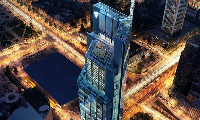 Foster postaví ve Varšavě nejvyšší budovu Polska