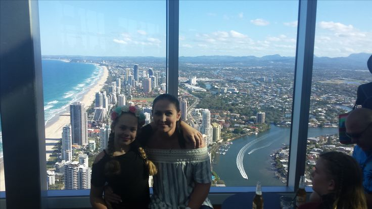 Sky point tower over looking Surfers.
