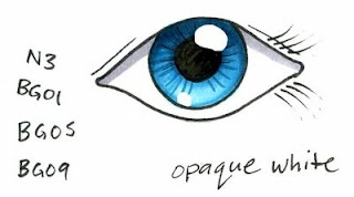 Coloring Eyes part 2 - Realistic Eyes