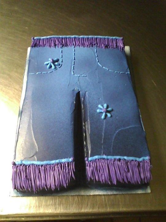 Blue Jean Cake | cakes, cupcakes n b days | Pinterest ...