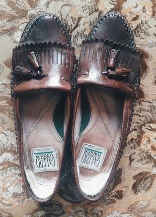 Kup mój przedmiot na #vintedpl http://www.vinted.pl/damskie-obuwie/polbuty/12228257-skorzane-mokasyny-vintage