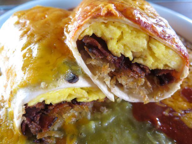Tia Sophiau0027s Famous Breakfast Burrito Voted Best.Breakfast.Ever By Food  Network.