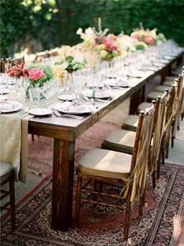 reclaimed wood farm table rental rustic rentals sf