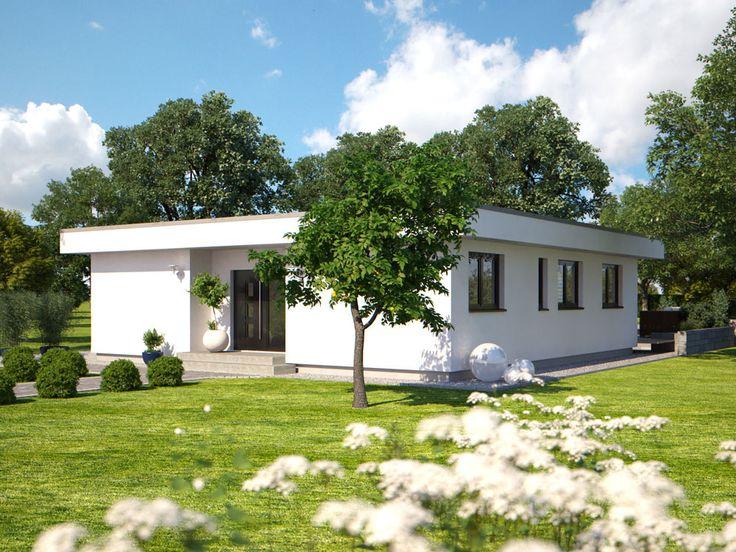 Eingangsbereich außen modern bungalow  31 besten Hanlo Haus - Bauhaus Serie