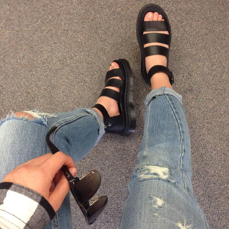Dr Martens Clarissa Sandals Outfit Me Too Shoes Doc