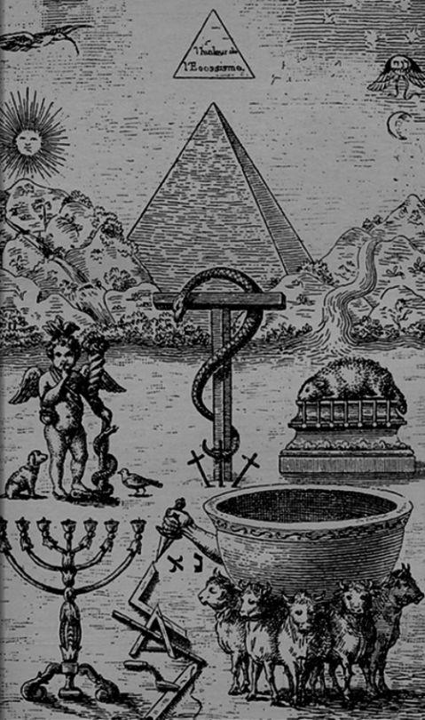 "Eugen Lennhoff - High Degree Symbols of Freemasonry, ""The Freemason"", 1932."