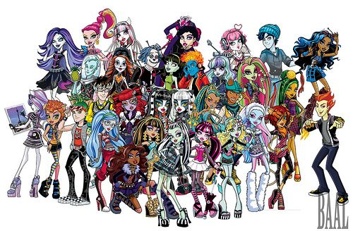 Monster high Characters- I have 30 Monster High dolls right now...