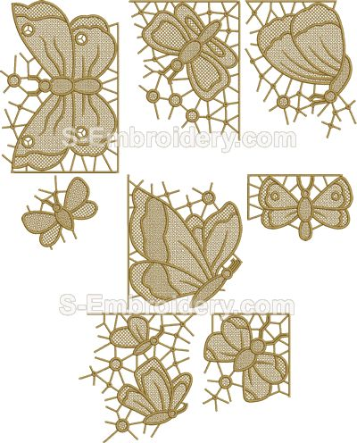 freestanding lace machine embroidery patterns