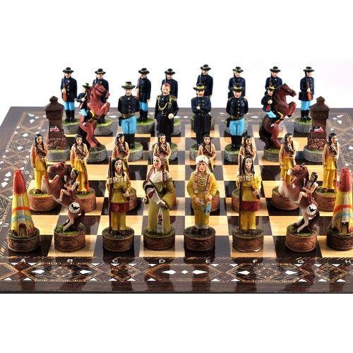 Amerikan askerleri ve kizilderililer ürünü, özellikleri ve en uygun fiyatların11.com'da! Amerikan askerleri ve kizilderililer, satranç kategorisinde! 49304812