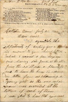 30 best Civil war love letters images on Pinterest