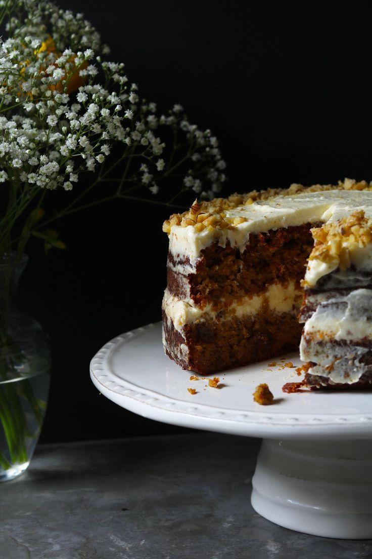Carrot Cake with Orange Cream