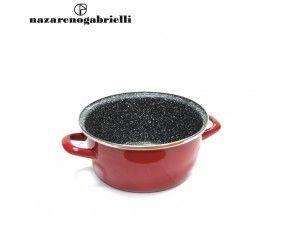 www.sconticasa.it  Casseruola con rivestimento antiaderente e 2 manici  Adatta per esaltare la qualità dei sapori  Realizzata da Nazareno Gabrielli