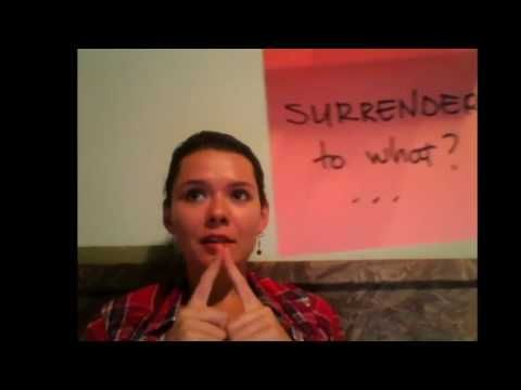 SURRENDER ....to what? [2] #uniqueartem