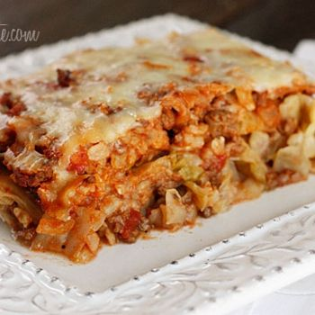 Stuffed Cabbage Casserole- deconstructed version of stuffed cabbage ...