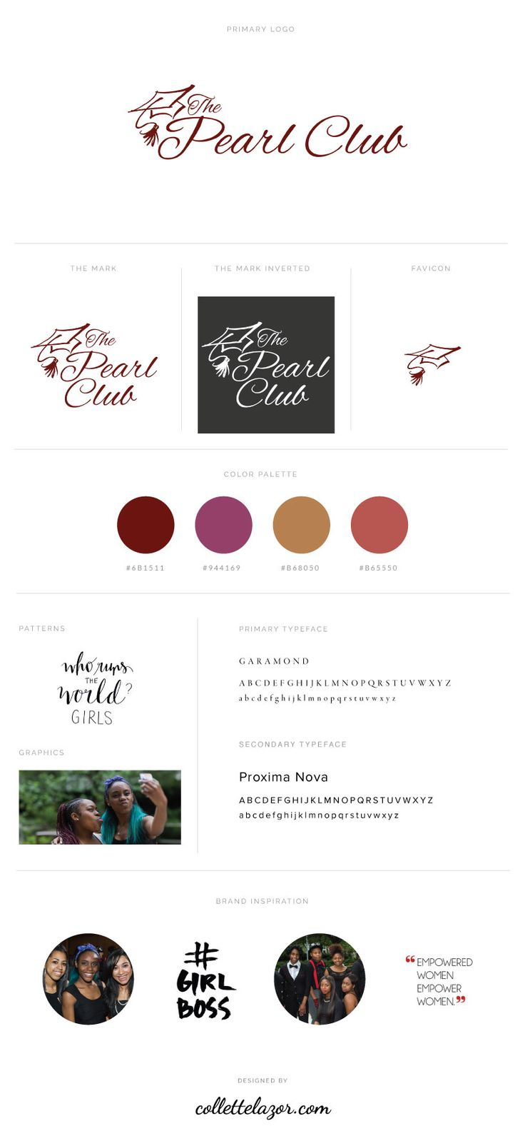 Website Redesign: The Pearl Club — Collette Lazor
