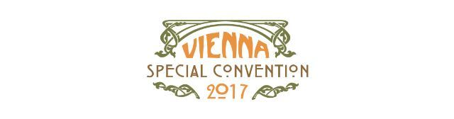 AUSTRIA VIENNA - 2017 SPECIAL CONVENTION - 16 to 18 June 2017  Friday 16 to Sunday 18 June 2017 at the Ernst-Happel-Stadion Meiereistraße 7 1020 Wien.  Convention programme in German Croatian and English.  With specially invited delegates from Croatia Czech Republic Luxembourg Macedonia Serbia Slovakia Slovenia United States.  Application instructions and forms etc  Convention website: https://at.jw2017.org
