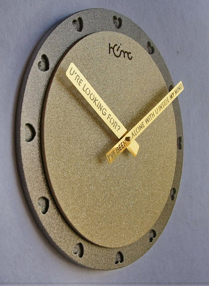Type: Wall Clock    Theme: Houses    Time Display: Analog    Style: Modern/Contemporary    Indoor/Outdoor: Indoor    Shape: Round    Materials: Wood