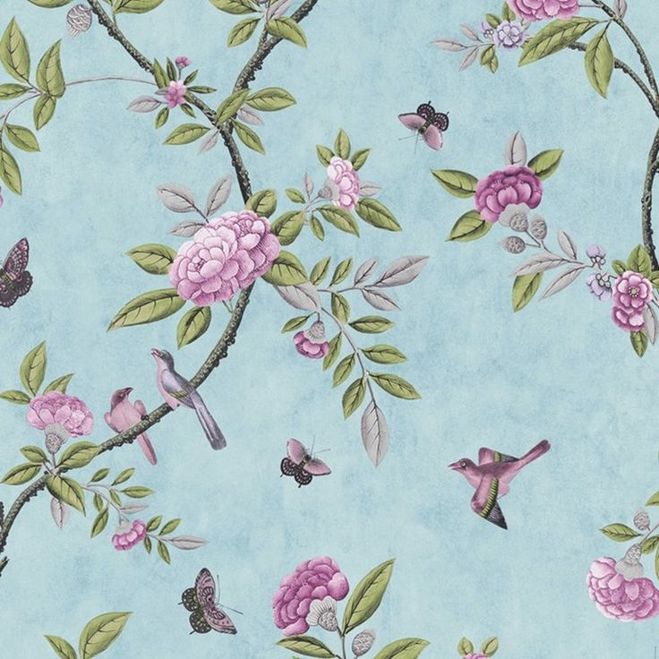Chinoiserie Duckegg - Miscellaneous - Graham & Brown
