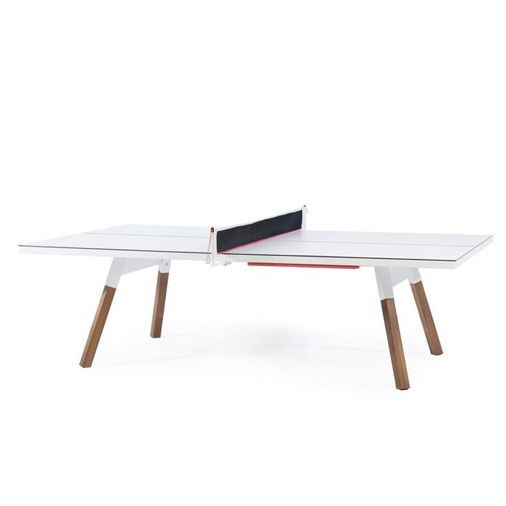 CONVERTABLE YOU AND ME PING PONG TABLE   Contemporary Game Tables   Dering  Hall