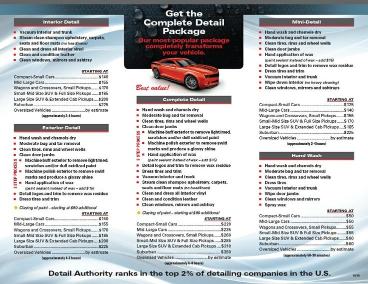 Pin by Pascal Hebert on mobile auto detailing Car