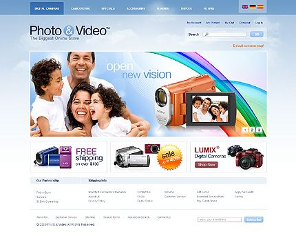 Photo & Magento Themes by Svelte