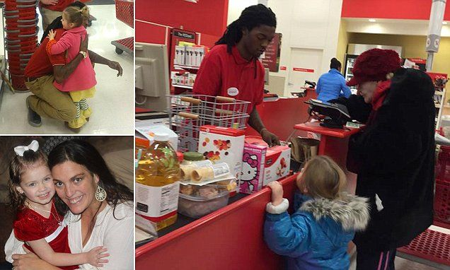 Touching kindness of teen Target cashier who patiently helped an elderly lady count out pennies to pay for all her items captures the hearts of thousands online