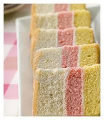 Angel cake for high tea.