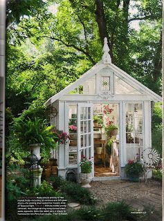 The Tin Rabbit: Flea Market Style Article~Greenhouse