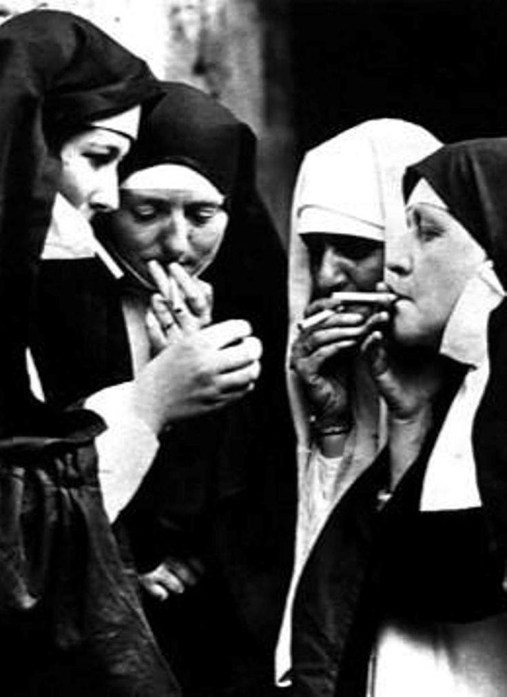 Cigarette Break Becomes Sexy Time