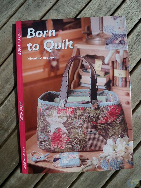 Book by Véronique Requena for Born to quilt