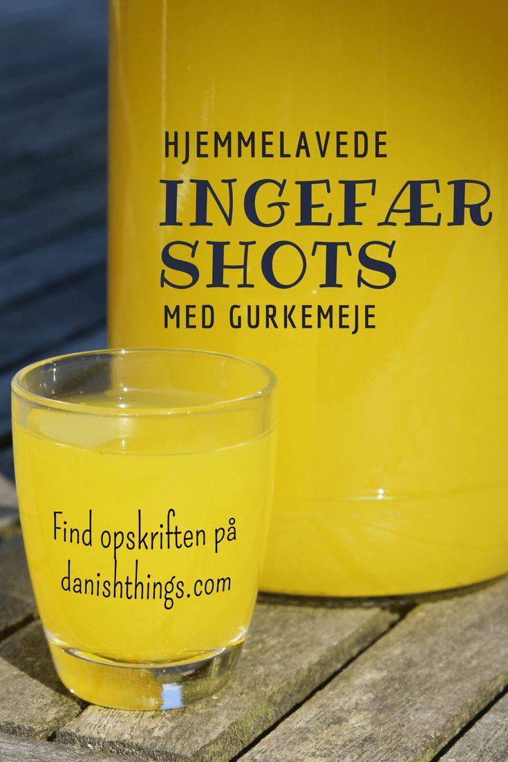 Ingefærshots med gurkemeje og citron - find opskriften på danishthings.com © Christel Danish Things