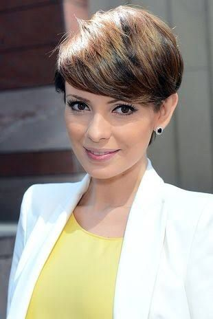 Resultado De Imagem Para Dorota Gardias Fryzura Cutesy Hair In