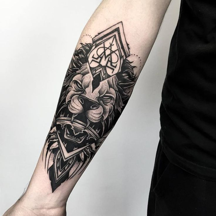 about Lion Arm Tattoo on Pinterest | Arm Tattoos For Men Tattoos ...